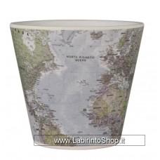 Quycoffe Bambu Tazzina Caffe' Map