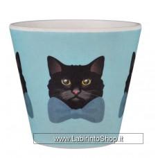 Quycoffe Bambu Tazzina Caffe' Cat 01
