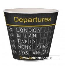 Quycoffe Bambu Tazzina Caffe' Departures