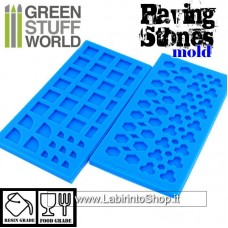 Green Stuff World Silicone molds - Paving Stones Molds