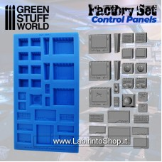 Green Stuff World Silicone Molds - Control Panels