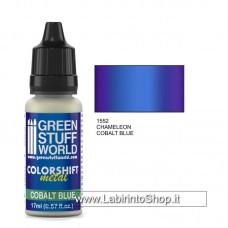 Green Stuff World Colorshift Metal Cobalt Blue 17ml
