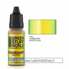Green Stuff World Colorshift Metal Mystic  Gold 17ml