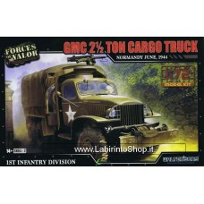 Forces of Valor 1/72 GMC 2.5 Ton Cargo Truck Normandy 1944