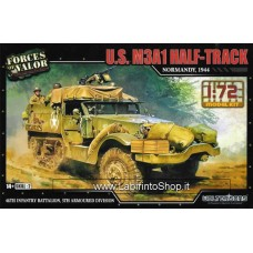 Forces of Valor 1/72 US M3a1 Half Track Normandy 1944