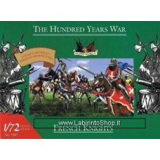 Imex French Knights The Hundred Years War Accurate 1/72 Scale Plastic Soldiers #7207