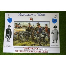 A Call to Arms Napoleonic Wars Waterloo British Foot Artillery 1/32