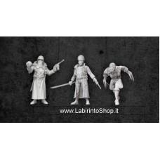 Modiphius Entertainment Achtung! Cthulhu Miniatures Nazi Villains Black Sun