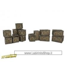 TTCombat City Scenics - Warehouse Boxes 28 - 32 mm