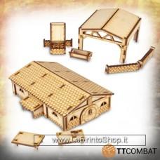 TTCombat Fantasy Realms - Halfling Blacksmiths 28 - 32 mm