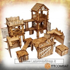 TTCombat Fantasy Realms - Savage Domain Marauder Outpost 28 - 32 mm