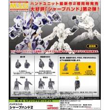 Kotobukiya Hand Unit MB46 Sharp Hand 2 (Plastic model)