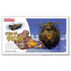 Finemolds Laputa: Castle in the Sky Goliath (with 1/20 Colonel Muska Figure) (Plastic model)