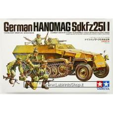 Tamiya 1:35 35020 German Hanomag Sdkfz 251/1 1/35 Scale Kit