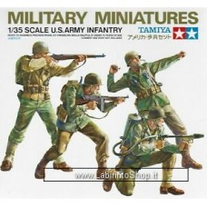 Tamiya 1:35 35013 U.S. ARMY INFANTRY 4 FIGURE