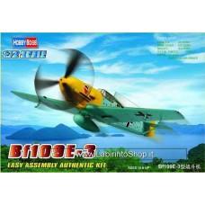 Hobby Boss 80253 1:72 Bf109E-3 Fighter- New