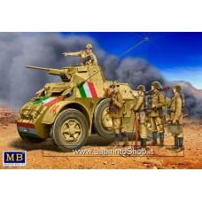 MasterBox 34144 1/35 Italian Military Men WWII Era