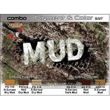 LifeColor Combo Pigment and Colour Set Mud
