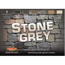 LifeColor Stone Set (22ml x 6)