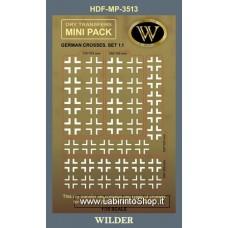 Dry Transfers HDF-MP-3513 - German Crosses. Set 1.1