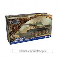 Corgi - Military Legends - 1/50 - Panzerkampfwager V Panther Ausf D Die Cast