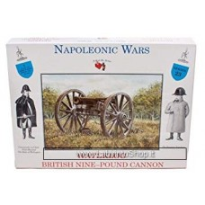 A Call to Arms Napol Wars - Waterloo - British Nine-Pound Cannon 1/32