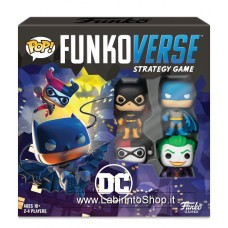 DC Comics Funkoverse Board Game 4 Character Base Set