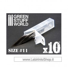 Green Stuff World 10x Hobby Knife Blade Refill