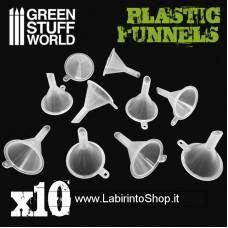 Green Stuff World Plastic Funnels