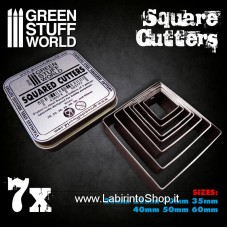 Green Stuff World Squared Cutters for Bases