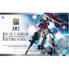 HG RX-78-2 Gundam Beyond Global 1/144 Plastic Model Kit