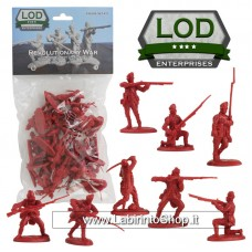 Lod 1/32 Revolutionary War British Light Infantry Figure Set 11