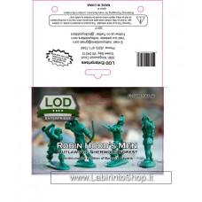 Lod 1/32 Robin Hood and His Merry Men Figure Set 6