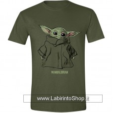 Star Wars The Mandalorian T-Shirt The Child Sketch