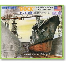 Dock for Fletcher Class (Plastic model) 1/700