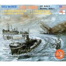 US Navy L.S.M. L.C.I / Royal Navy L.C.T. L.C.TR (Plastic model) 1/700