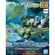Mass Production Zeonic Sword (HGBD:R) (Gundam Model Kits)