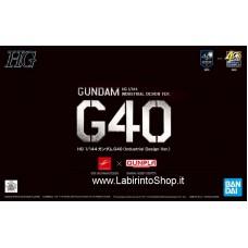 HG RX-78-2 Gundam G40 (Industrial Design Ver.) (Gundam Model Kits)