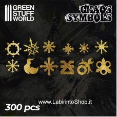 Green Stuff World Chaos Runes and Symbols