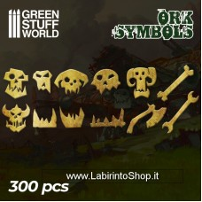Green Stuff World Ork Runes and Symbols