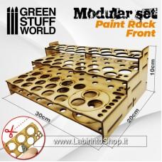 Green Stuff World Modular Paint Rack - FRONT