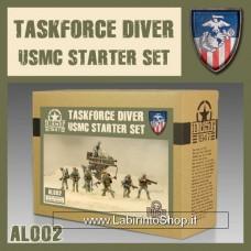 Dust - USMC Starter Set - Task Force Driver - Primered