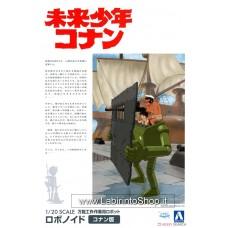 Aoshima Future Boy Conan 1/20 Robonoids (Conan) (Plastic model)