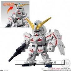 Bandai - Microwars - Unicorn Gundam (Destroy Mode)