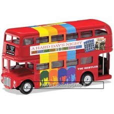 Corgi - Die Cast Model Kit - The Beatles - London Bus - A Hard Day's Night