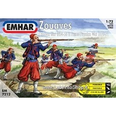 Emhar Zouaves Crimean War 1854-56 and Franco Prussian War 1870-71 1/72