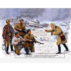 MasterBox 3529 1/35 Photo for The Newspaper Russian Infantry Korsun-shevchenkovskiy 1944