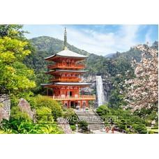 Castorland Puzzle 1000pz Seiganto-ji Temple Japan