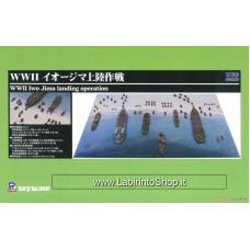 Pit-road WWII Invasion of Iwo Jima 1/700 (Plastic model)