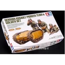 Tamiya German Assault Pioneer Team A Goliath Set Scale 1/35 Scale Kit